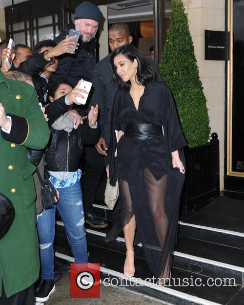 Kim Kardashian West and Kanye West 6