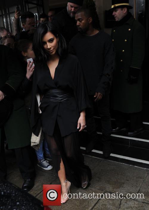 Kim Kardashian West and Kanye West 11