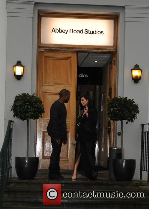 Kanye West and Kim Kardashian West 11