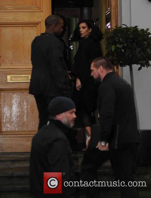 Kanye West and Kim Kardashian West 1