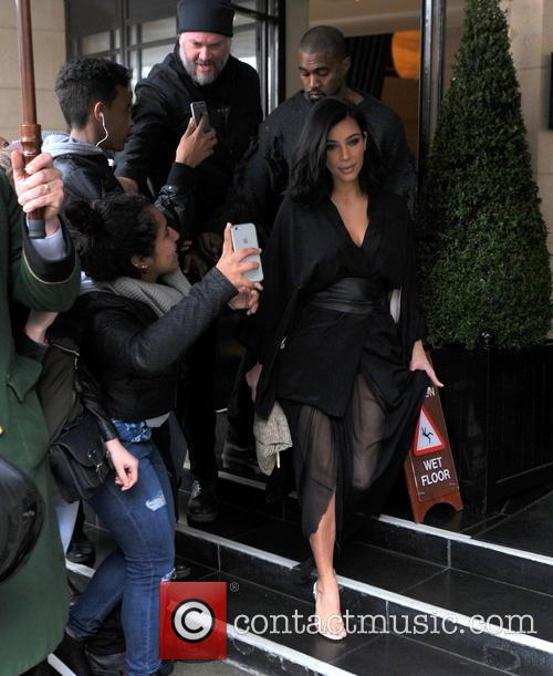 Kim Kardashian West and Kanye West 1