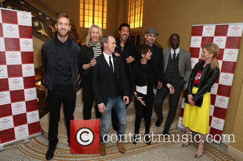 Calvin Harris, Lisa Stansfield, Sara Dallin, Lionel Richie, Ozwald Boateng, Boy George, David Thomas and Emilia Fox 9