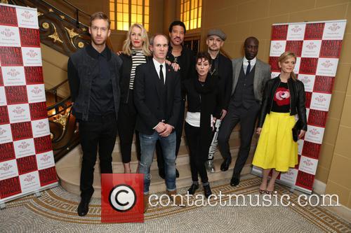 Calvin Harris, Lisa Stansfield, Sara Dallin, Lionel Richie, Ozwald Boateng, Boy George, David Thomas and Emilia Fox 11