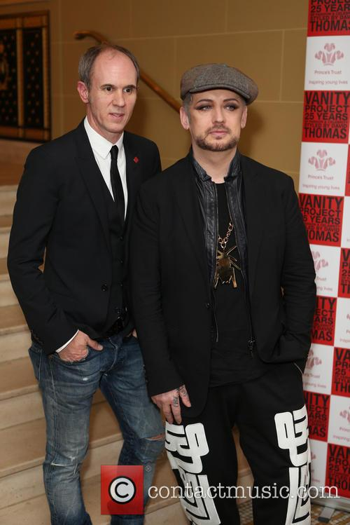 David Thomas and Boy George 4