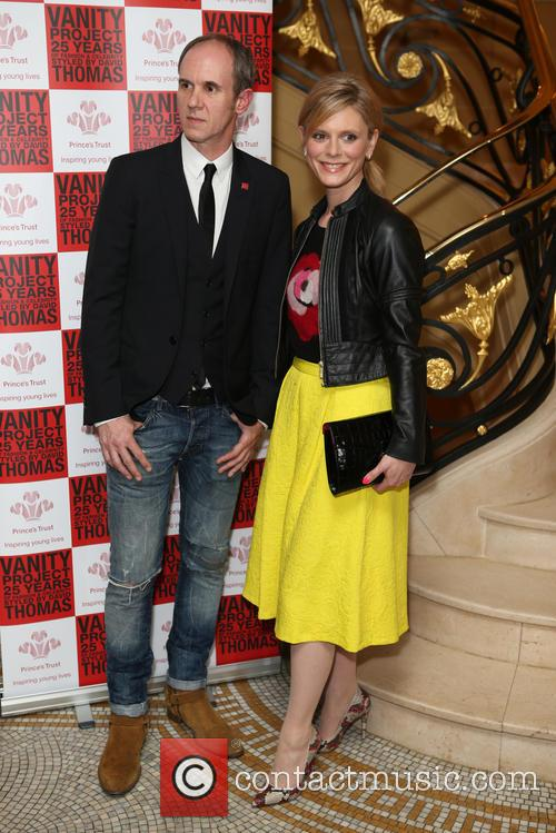 David Thomas and Emilia Fox 1
