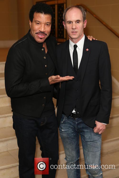 Lionel Richie and David Thomas 7