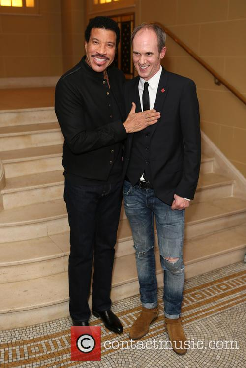Lionel Richie and David Thomas 9
