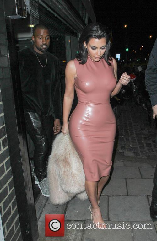 Kanye West and Kim Kardashian 5