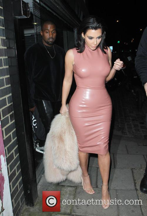Kanye West and Kim Kardashian 6
