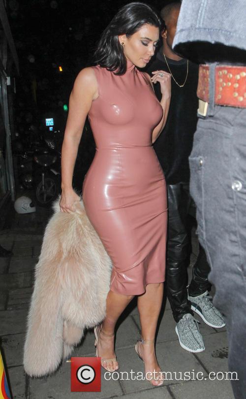 Kanye West and Kim Kardashian 8