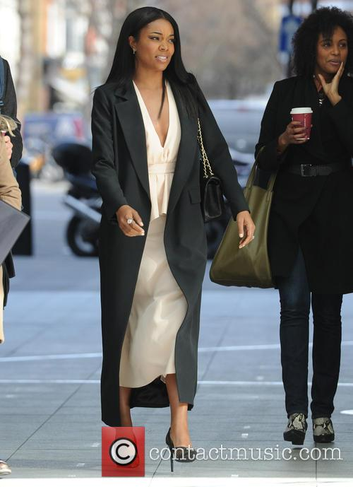 Gabrielle Union out in London