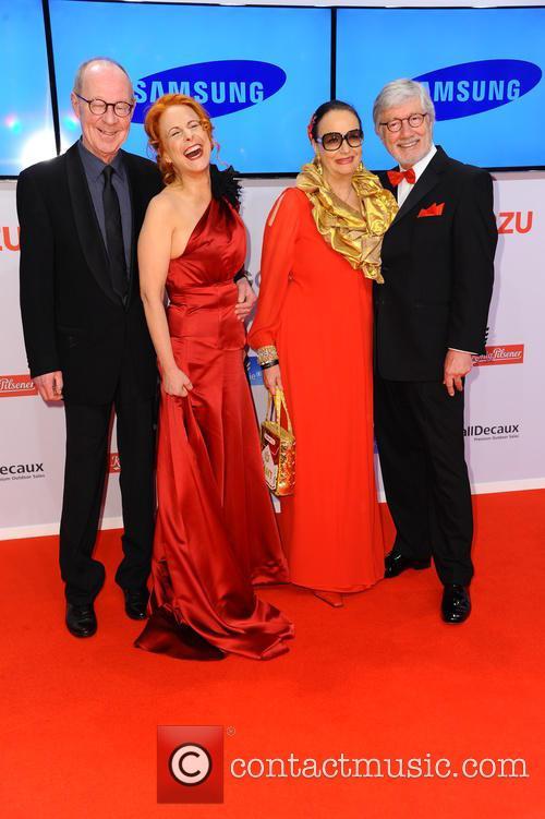 Hans Peter Korff, Christiane Leuchtmann, Marina Handloser and Christian Wolff 1