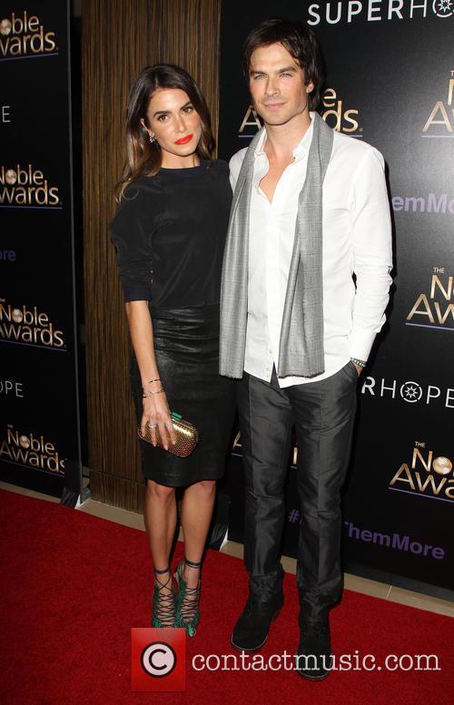 Ian Somerhalder and Nikki Reed 1