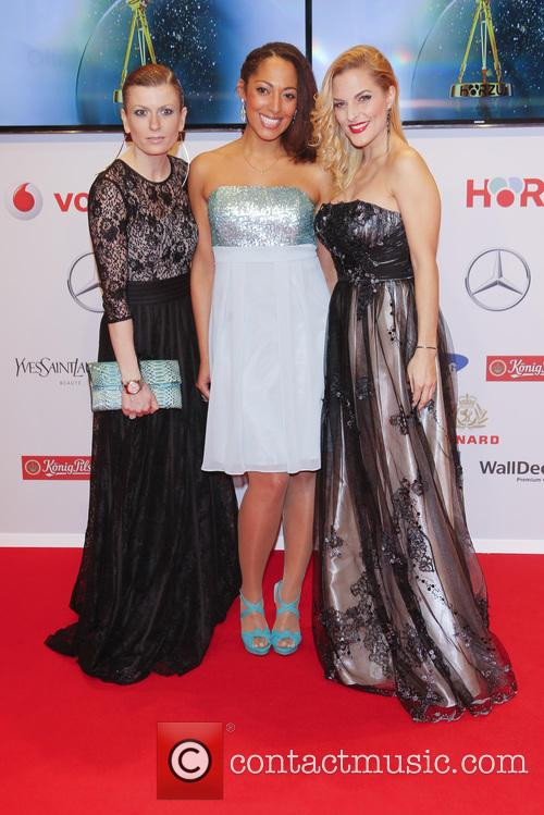 Lucy Diakovska, Jessica Wahls and Sandy Moelling 3