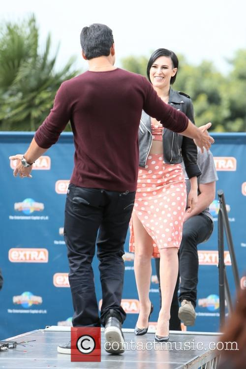 Rumer Willis and Mario Lopez 4