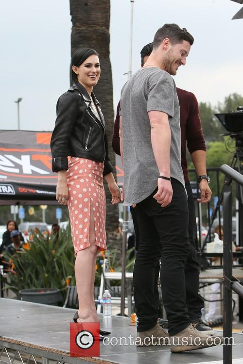 Rumer Willis and Valentin Chmerkovskiy 7