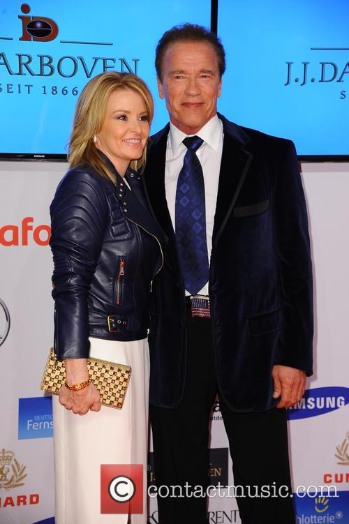 Heather Milligan and Arnold Schwarzenegger 1