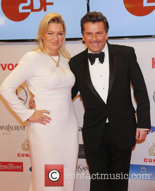 Claudia Anders and Thomas Anders 2