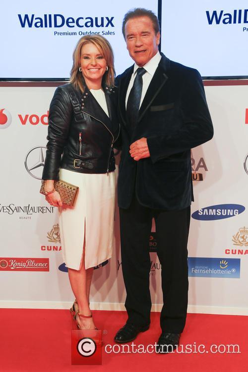 Heather Milligan and Arnold Schwarzenegger 2