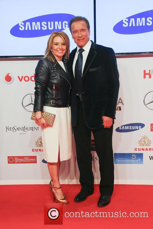 Heather Milligan and Arnold Schwarzenegger 4