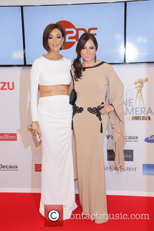 Verona Pooth and Simone Thomalla 2