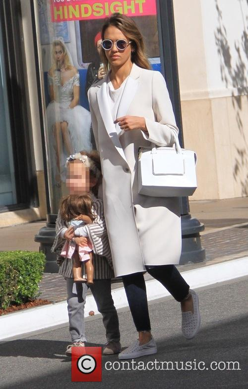 Jessica Alba and Haven Garner Warren 4
