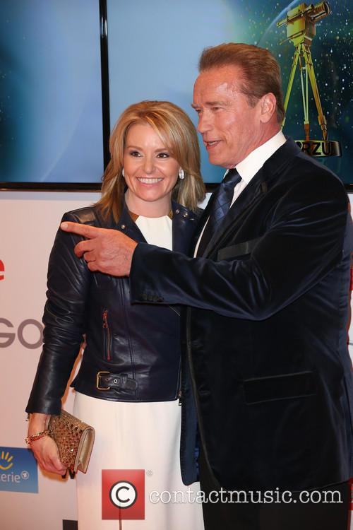 Arnold Schwarzenegger and Heather Milligan 2