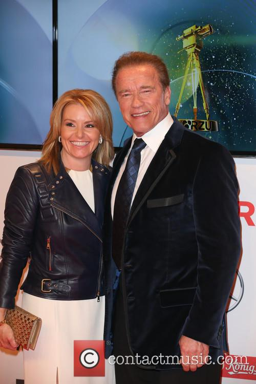 Arnold Schwarzenegger and Heather Milligan 3