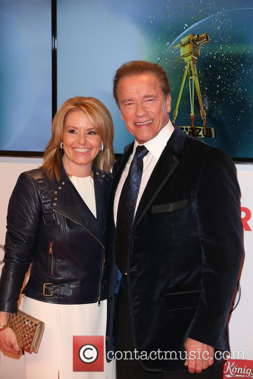 Arnold Schwarzenegger and Heather Milligan 4