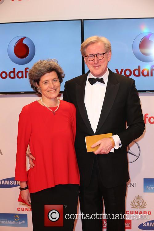 Frank Plasberg and Anne Gesthuysen 2