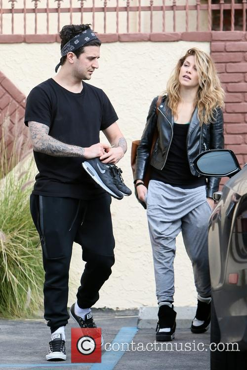 Mark Ballas and Allison Holker 2