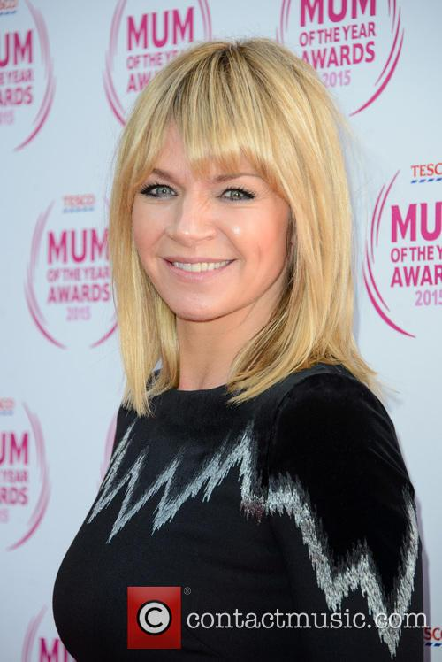 Zoe Ball Pictured Kissing 22 Year Old Boyband Singer At 'Strictly' Xmas Party