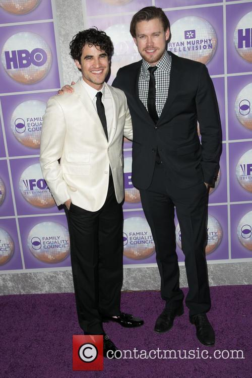 Darren Criss and Chord Overstreet 7