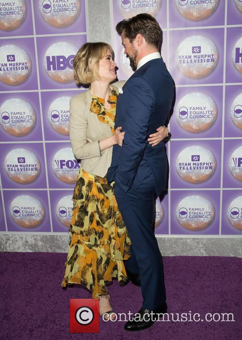 Sarah Paulson and Andrew Rannells 6