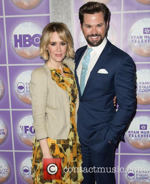 Sarah Paulson and Andrew Rannells 9