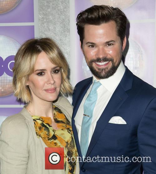 Sarah Paulson and Andrew Rannells 10