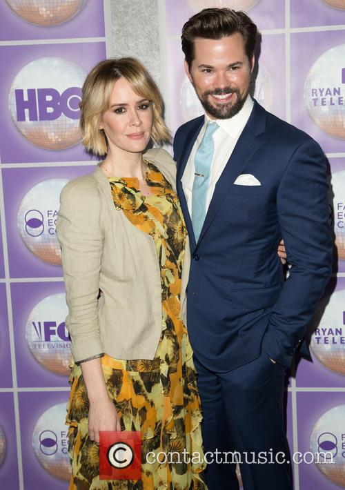Sarah Paulson and Andrew Rannells 1