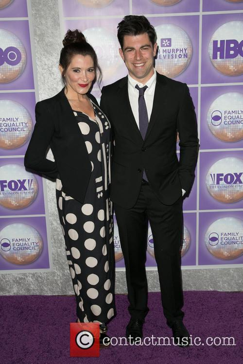 Tess Sanchez and Max Greenfield 2