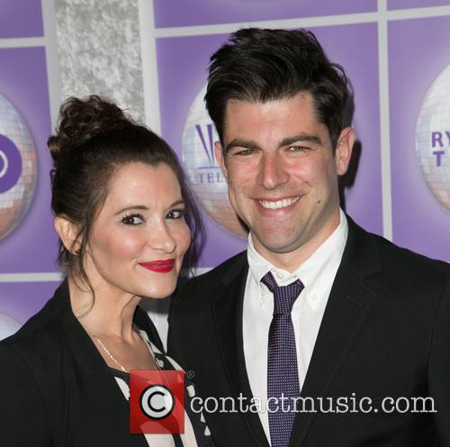 Tess Sanchez and Max Greenfield 1