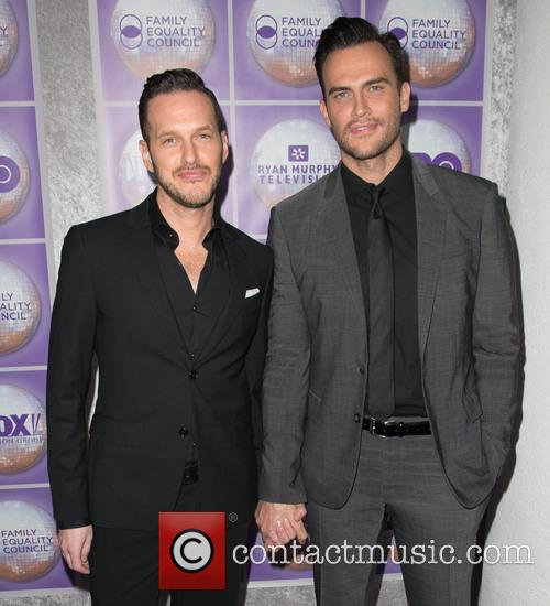 Jason Landau and Cheyenne Jackson 3