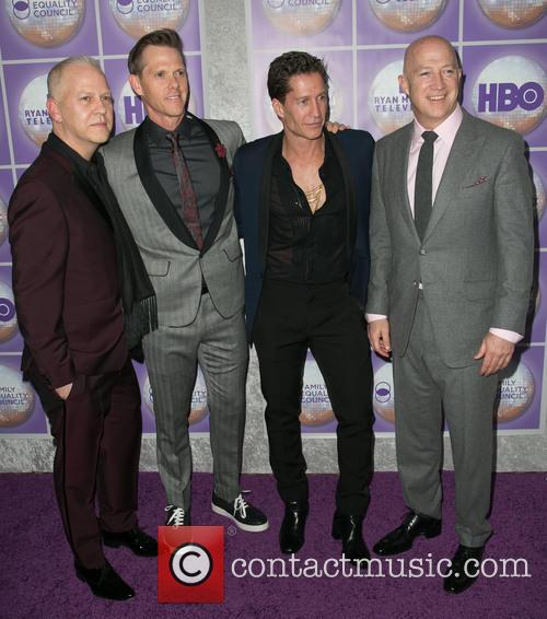 Ryan Murphy, David Miller, Bruce Bozzi and Bryan Lourd 2