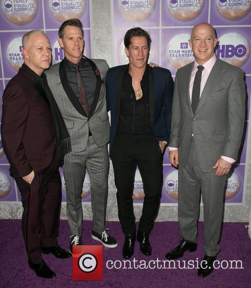 Ryan Murphy, David Miller, Bruce Bozzi and Bryan Lourd 3