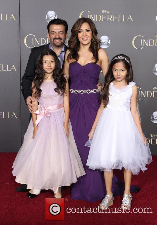 David Barrera, Maria Canals Barrera, Bridget Barrera and Madeleine Barrera 2