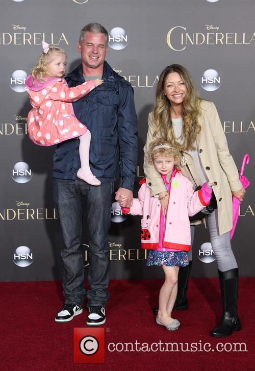 Eric Dane, Rebecca Gayheart, Billie Beatrice Dane and Georgia Dane 2