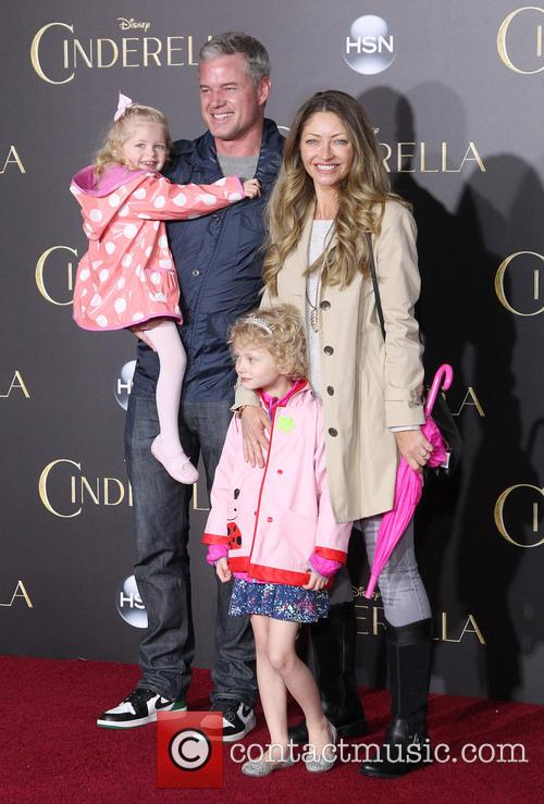 Eric Dane, Rebecca Gayheart, Billie Beatrice Dane and Georgia Dane 1