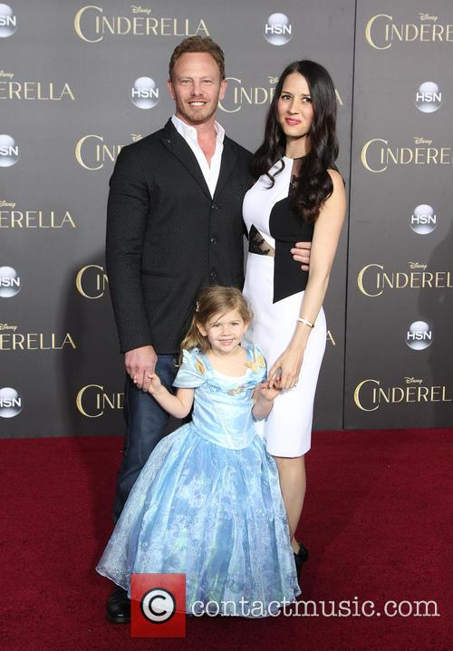 Ian Ziering, Erin Kristine Ludwig and Penna Mae Ziering
