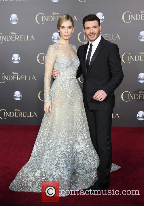 Lily James and Richard Madden 3