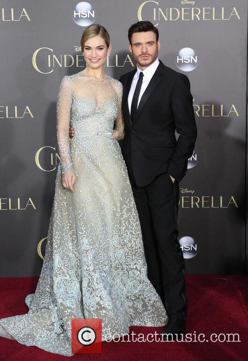 Lily James and Richard Madden 11