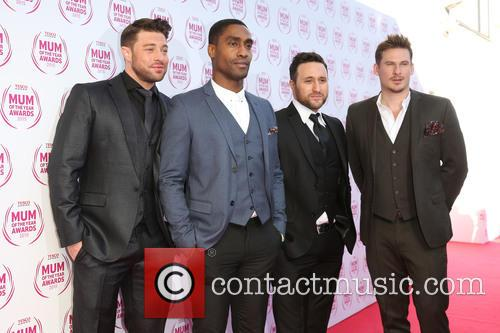 Antony Costa, Duncan James, Lee Ryan, Simon Webbe and Blue