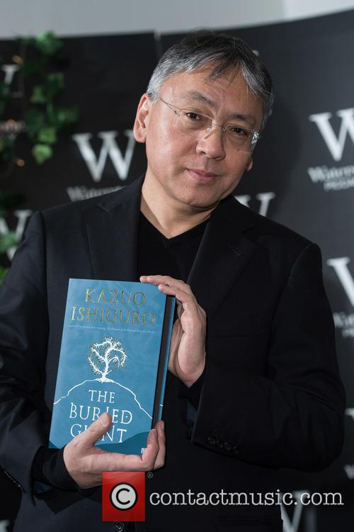 Kazuo Ishiguro: The Buried Giant - launch signing